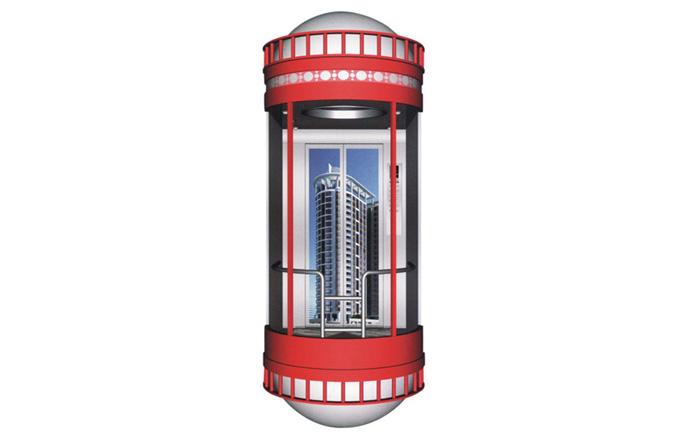 圆形观光电梯GL-02
