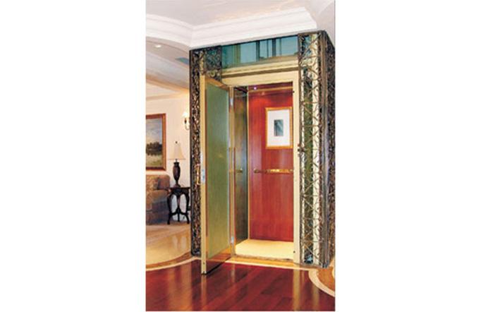 传承瑞典皇家经典设计理念,冠菱别墅(家用)电梯为您的尊贵住所量身