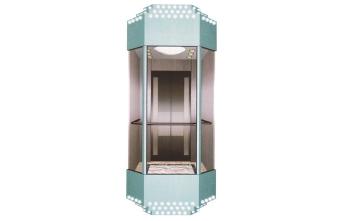 广西方形观光电梯GL-04