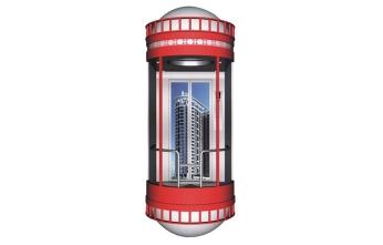 广西圆形观光电梯GL-02